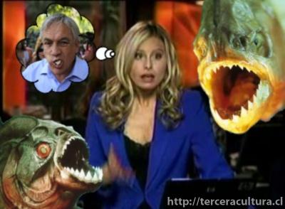 """¿Piñera = Piraña? Soledad Onetto y su """"Lapsus"""""""