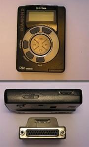 Diamond Rio... el primer reproductor portátil de MP3