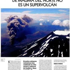 Menos mal: la laguna de magma del norte no es un supervolcán