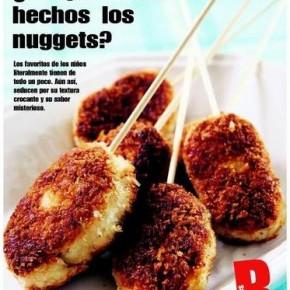 ¿De qué están hechos los nuggets de pollo?
