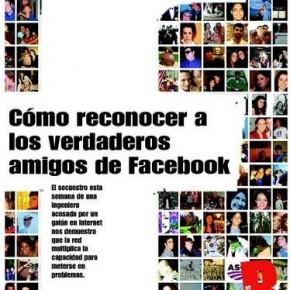 ¿Quiénes son tus verdaderos amigos de Facebook?